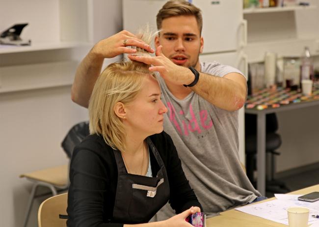 Совместный тренинг по изучению технологии школы Pivot Point поспециальности«Парикмахерское искусство», МТКС