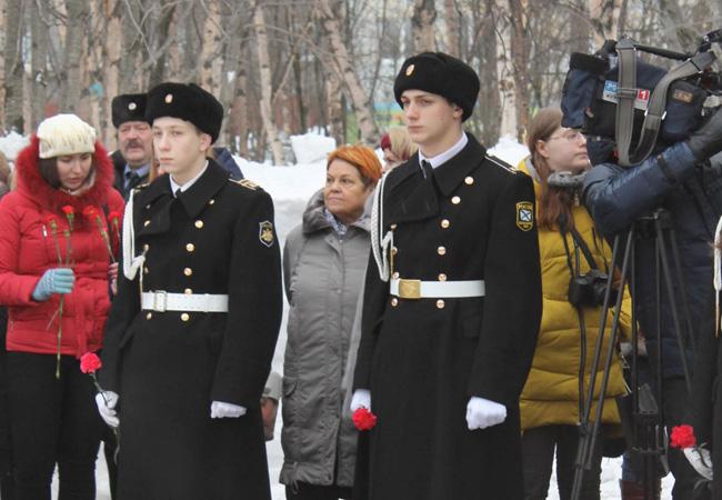 Митинг памяти, посвящённый русским воинам-интернационалистам, исполнявшим служебный долг на территории Афганистана, Мурманск