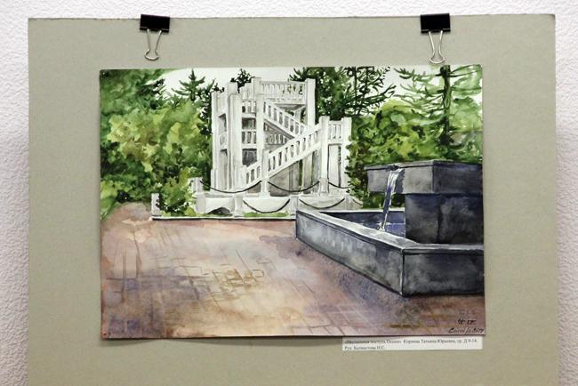 Выставка творческих работ молодежи «Город в моем сердце», МТКС