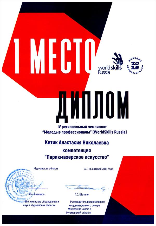 IV Региональный чемпионат «Молодые профессионалы» (WorldSkills Russia) в Мурманской области, МТКС